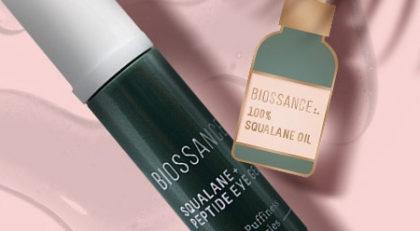 GANHE tratamento + pin exclusivo em todas as compras da Biossance no site da Sephora
