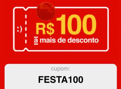 Até 80% OFF + Cupom de R$100 em compras acima de R$900 na Americanas.com