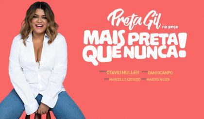 """""""Mais Preta que Nunca"""" – Preta Gil com 50% OFF! (Compra online)"""