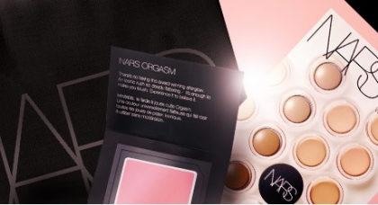 GANHE uma necessárie com mimos em todas as compras da Nars no site da Sephora