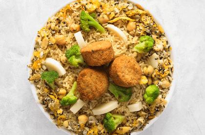 GANHE 10% de Desconto no Bowl de arroz integral (veggie) da Boali!