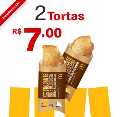 2 Tortas Maçã ou Banana por apenas R$ 7,00!