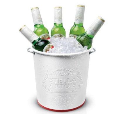Stella Artois: balde com 3 unidades com desconto no Happy Hour!