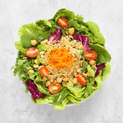 GANHE 10% de Desconto na Salada levíssima (vegana) da Boali!