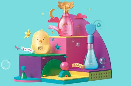 GANHE uma surpresa na compra de itens na linha infantil no site do O Boticário