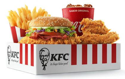 Big Box médio Double Crunch por apenas R$19,00!