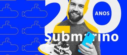 Aniversário Submarino: até R$ 200 OFF