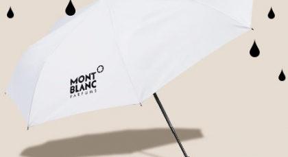 GANHE um guarda chuva da Montblanc em todas as compras da marca no site da Sephora