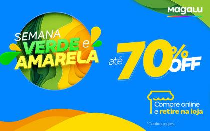 Semana Verde e Amarela: Até 70% OFF!