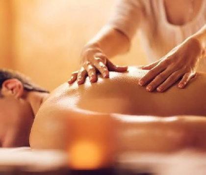 Massagem relaxante masculina por apenas R$135!