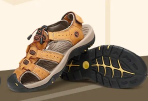 Cupom de 10% OFF em 1 peça e 22% OFF em 2 peças de sapatos masculinos no Gearbest