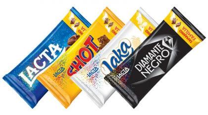 Chocolates Lacta 90g com 20% de desconto!