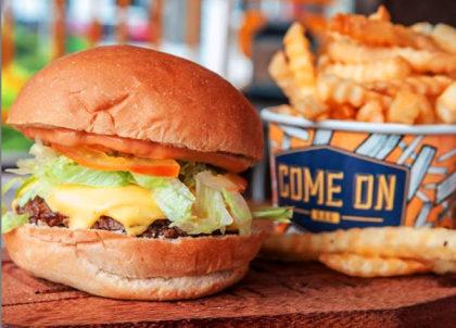 Qualquer Burger + Fritas por apenas R$22,00!