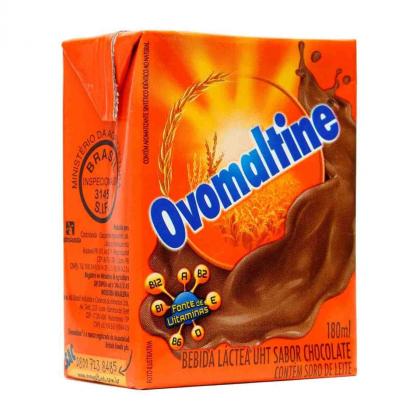 Bebida Láctea Ovomaltine 180ml por apenas R$ 1,33 na compra de 3 unidades!