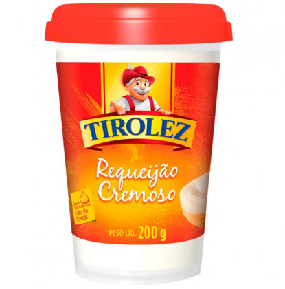 Requeijão Cremoso Tirolez 200g por apenas R$ 3,48 na compra de 2 unidades!