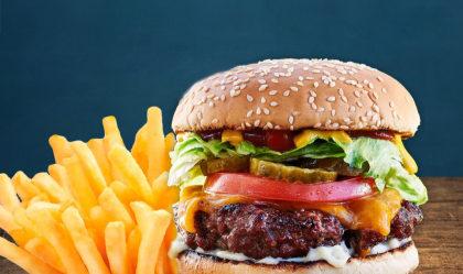 Cheese Burger + Batata de por apenas R$24,90!