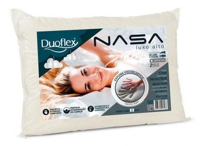 Travesseiro Duoflex Nasa com 20% de desconto!