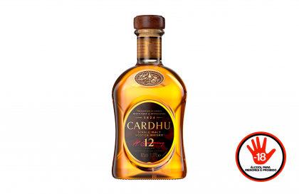 Whisky Cardhu 12 Anos 1L por apenas R$ 267,00 + 10% OFF! [+18]