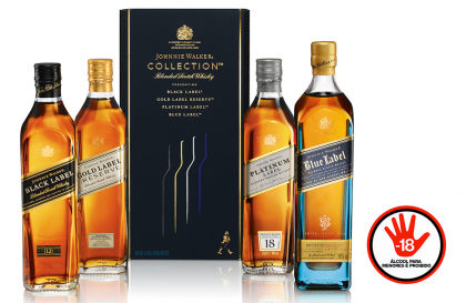 Whisky Johnnie Walker The Collection Pack 200ml por apenas R$ 553,90 + 10% OFF!