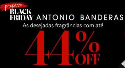 Prepara Black Friday: Fragrâncias do Antonio Bandeira com até 44% OFF no site da Sephora
