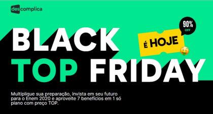 Cupom de 22% OFF Black Top 2020 no site do Descomplica
