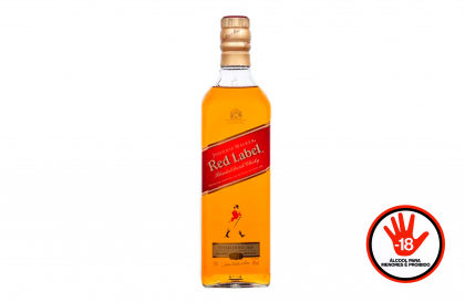 Whisky Johnnie Walker Red Label 1L por apenas R$ 79,90! [+18]