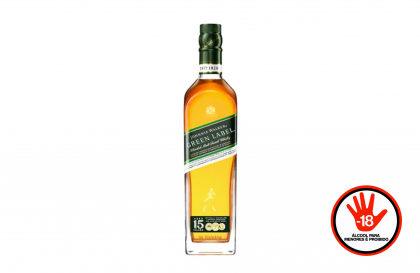 Whisky Johnnie Walker Green Label 750ml por apenas R$ 205! [+18]