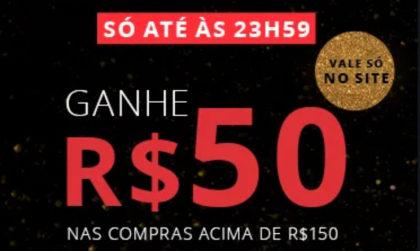 Só hoje: GANHE R$50 na Eudora em compras acima de R$150 em produtos da lista