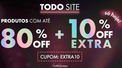 Cupom de 10% OFF extra em compras acima de R$ 299 no site da Época