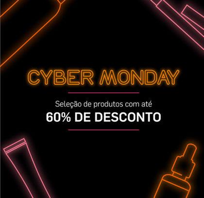 Cyber Monday Até 60% OFF no site da Dermage