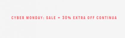 Cyber Monday: Cupom de 30% OFF extra no Sale da Farfetch