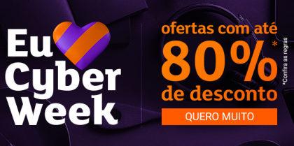 Cyber Week: Até 80% OFF no site