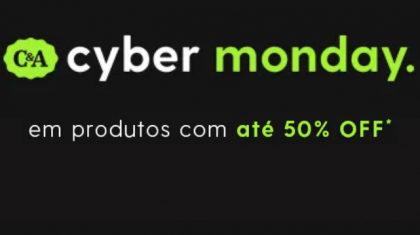 CYBER MONDAY C&A: até 50% OFF!