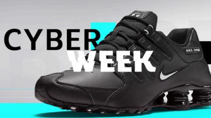 CYBER WEEK Netshoes: até 80% OFF!