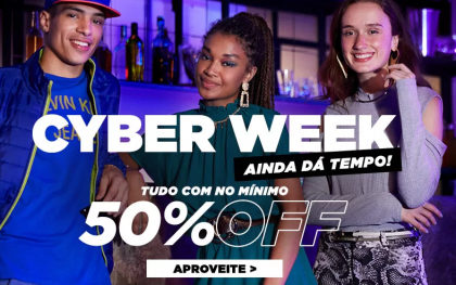Cyber Week Zattini: até 50% OFF!