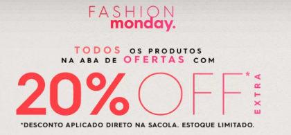 20% OFF em moda no site da Renner