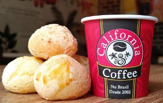Bebidas e Comidas do Califórnia Coffe com 10% de desconto!