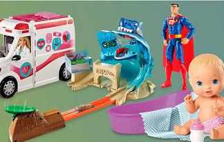 Na compra de um brinquedo da seleção, o segundo brinquedo é grátis no site da Ri Happy