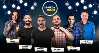 COMEDY NIGHT: Ingressos por apenas R$25,00!