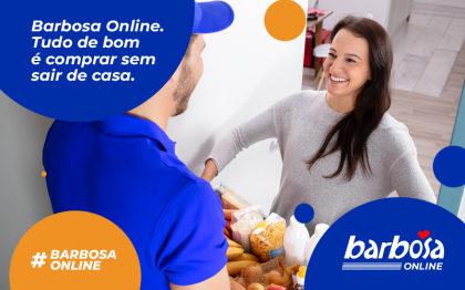 Frete Grátis para compras acima de R$ 130,00 no Barbosa Supermercado!