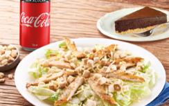 Salada Caesar + Refrigerante Lata + Sobremesa por apenas R$ 29,90!