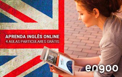 Inglês Online: GANHE 4 Aulas Particulares de Inglês na Engoo!