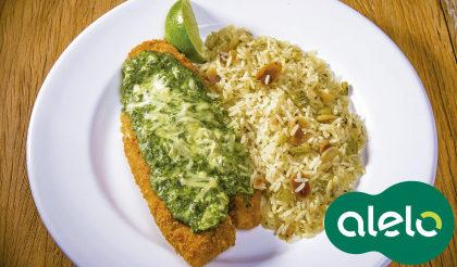 Spinach & Fish com 15% de desconto no Applebee's!