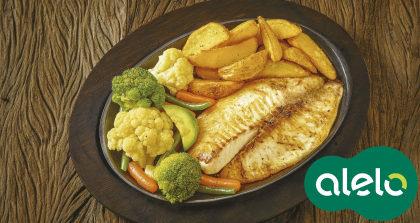 Sizzling Street Fish com 15% de desconto no Applebee's!