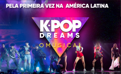"""Show """"K-Pop Dreams O Musical"""": Ingressos com 30%OFF!"""