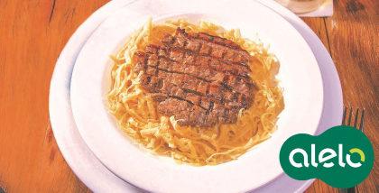 Beef Pasta com 15% de desconto no Applebee's!