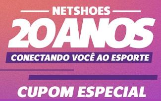 Aniversário Netshoes: Até 80% OFF + Cupom de 20% OFF no site