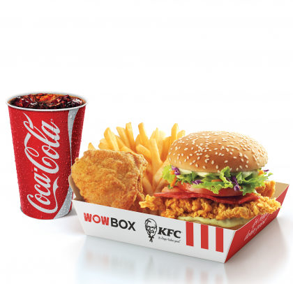 Wow Box Crunch 2 + 1 Refrigerante 500ml por apenas R$15,90!
