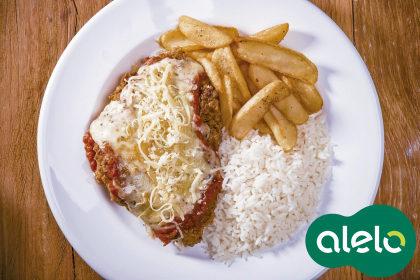 Beef ou Chicken Parmesan com 15% de desconto no Applebee's!