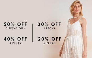 Até 50% OFF em MIXED no site da Shop2gether